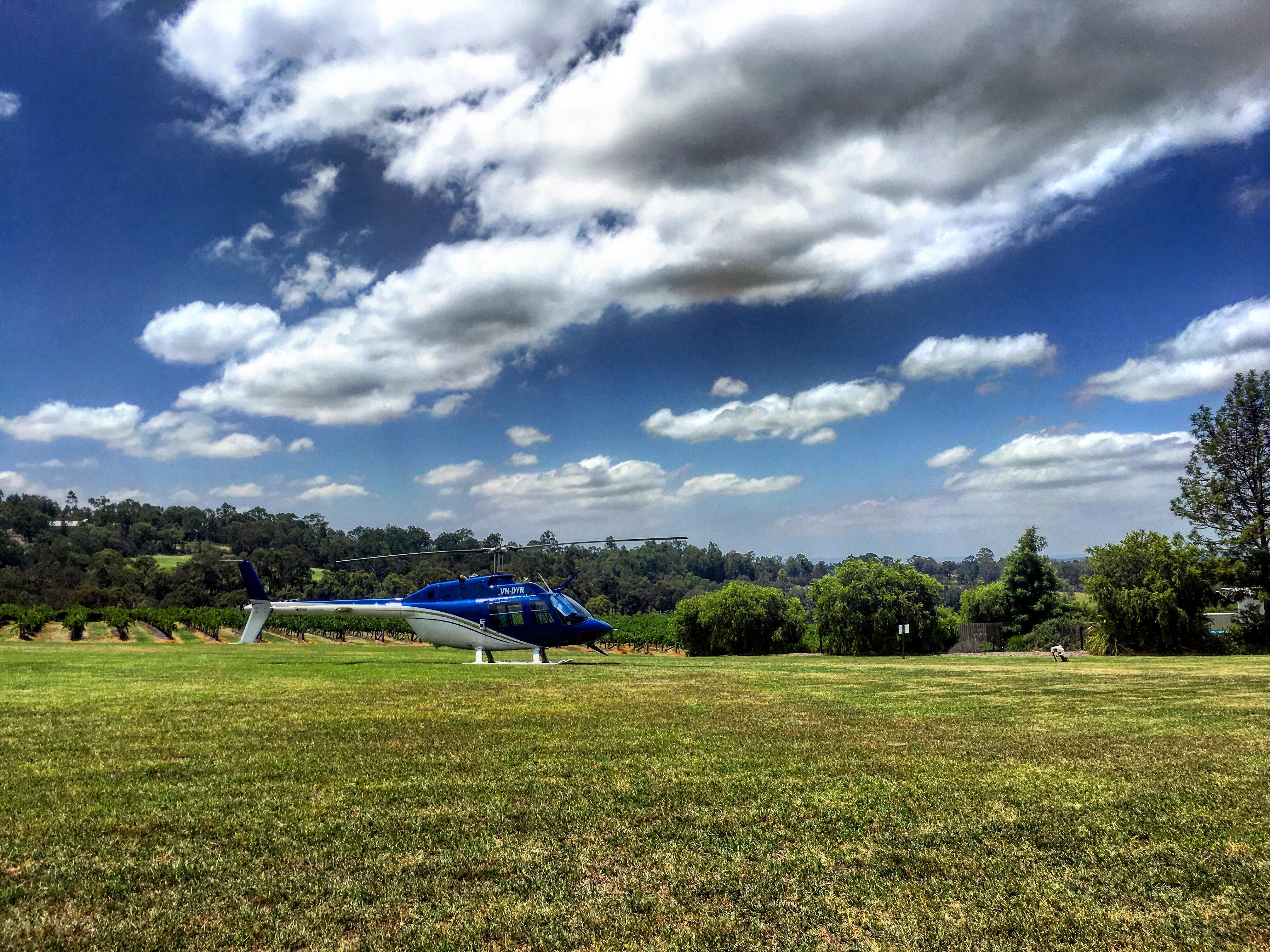Hunter Valley Cellar Door Amp Lunch Tour  Helicopter Charter Flights